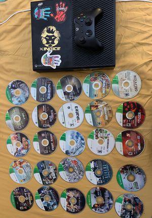 Xbox One w/ Xbox Remote & 25 Games for Sale in Miami Beach, FL