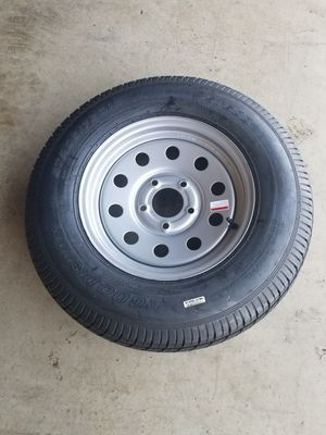 Trailer Tires With Rim for Sale in Wylie, TX