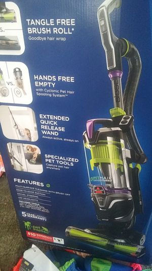 Bissell pet hair eraser turbo plus vacuum cleaning system (WILLING TO TRADE 4 COMMUTER CAR) for Sale in Portland, OR