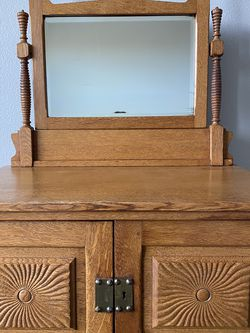 Beautiful Antique Oak Lingerie Dresser for Sale in Vancouver,  WA