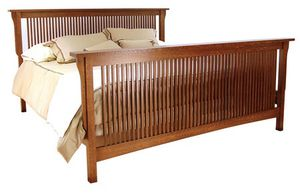 KING SIZE, MISSION STYLE BED FRAME for Sale in Portland, OR