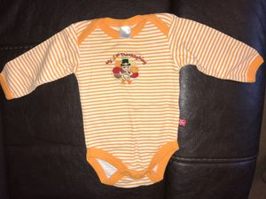 My 1st Thanksgiving onesie, size 0-3 mo for Sale in Rustburg, VA