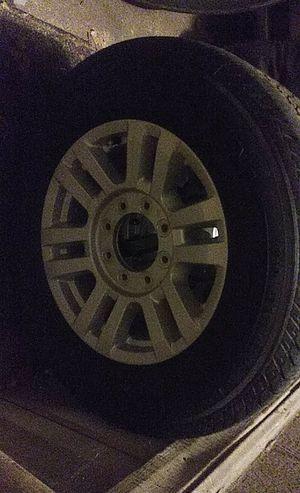 275/65/18 tires & rims f250-f350 for Sale in Phoenix, AZ