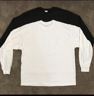 T-shirts long sleeve 4x16 sizes small to 2xl for Sale in Moreno Valley, CA
