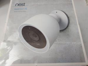 Nest Cam IQ Outdoor Security Camera. for Sale in Albuquerque, NM
