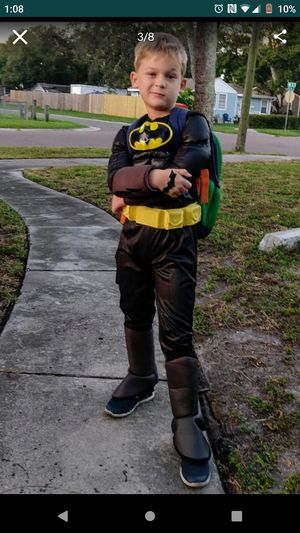 Halloween costume Batman child on photo is 7 years old. for Sale in St. Petersburg, FL