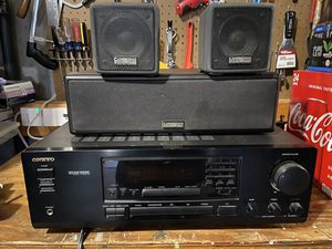 Surround system excellent Bose speakers for Sale in Douglas, MA
