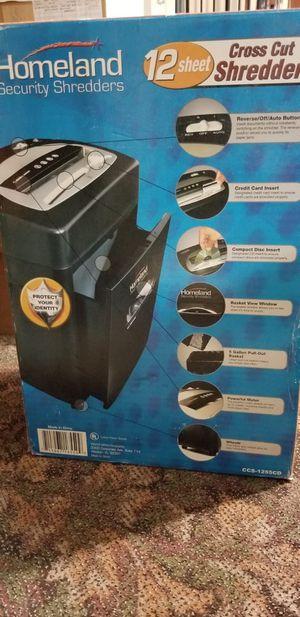 Homeland shredder for Sale in Independence, OH