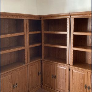 ****BRAND NEW**** Oak Bookshelves (Set Of 4) for Sale in Los Angeles, CA