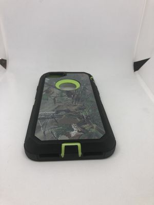 For iPhone 7 / iPhone 8 green tree camo camouflage hard case funda defender for Sale in Half Moon Bay, CA