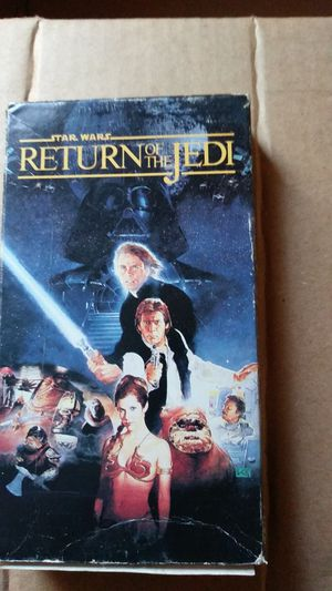RETURN OF THE JEDI VHS for Sale in Kissimmee, FL
