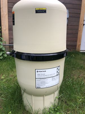 Pool Filter DE 50 gallon for Sale in Renton, WA