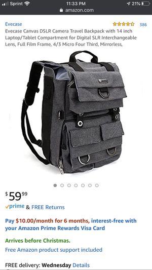 Evecase Camera Backpack for Sale in Laveen Village, AZ