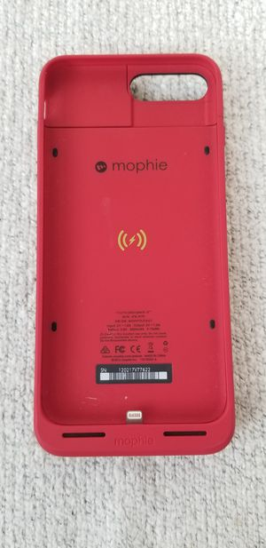 Mophie iPhone 7+ charger case for Sale in Portland, OR