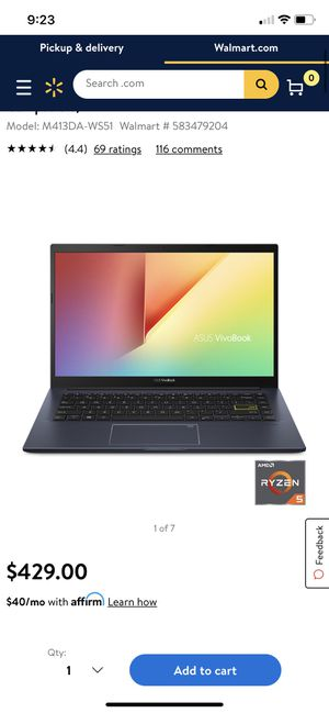 Asus Vivo book for Sale in Bakersfield, CA