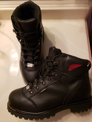 Red wing work boots for Sale in Canton, GA