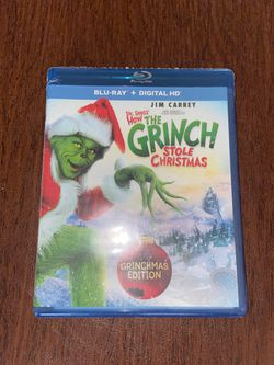 HOW THE GRINCH STOLE CHRISTMAS DVD for Sale in Watchung,  NJ