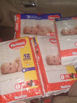 Huggies Diapers 8 -14 lbs for Sale in Redwood City, CA