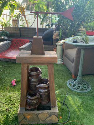 Windmill fountain for Sale in Garden Grove, CA