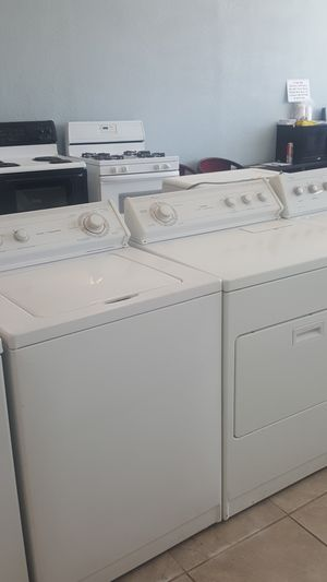 Whirlpool heavy duty super capacity washer and dryer set for Sale in Modesto, CA