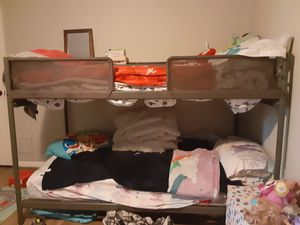 Bunk bed with mattress for Sale in Houston, TX