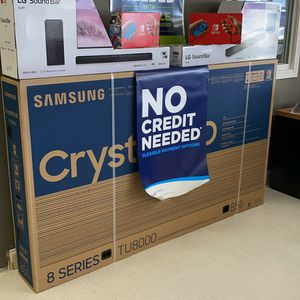 """85"""" Samsung smart 4K TVs FREE GAMING CONSOLE just $54Down for Sale in Houston, TX"""