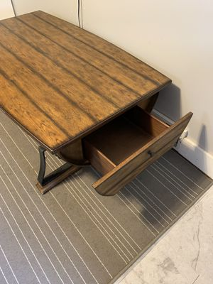 Half barrel coffee table for Sale in Pittsburgh, PA