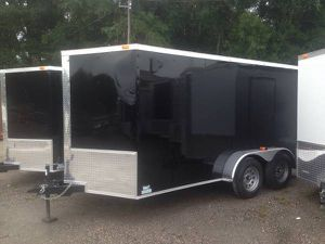 7X16 ENCLOSED TRAILER for Sale in Land O' Lakes, FL