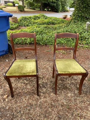 Mid century antique chairs for Sale in Tacoma, WA