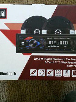 AM/FM Digital Bluetooth Car Stereo for Sale in Franklin,  WI