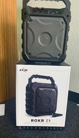 Zizo Rokr Bluetooth Speaker/Karaoke for Sale in Victoria, TX