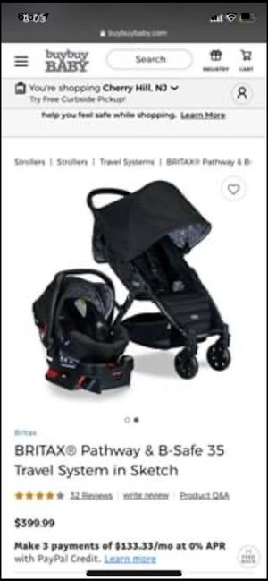 Britax pathway travel system for Sale in West Chester, PA