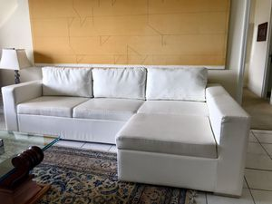 Modani Sectional Sofa with sleeper for Sale in SUNNY ISL BCH, FL