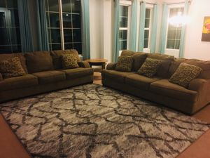Two Couches with 6 matching Pillow for Sale in Chandler, AZ