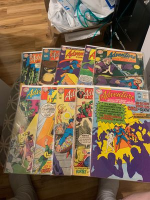 DC comic book lot of 10 vintage Superman in Adventure comics for Sale in Upland, CA