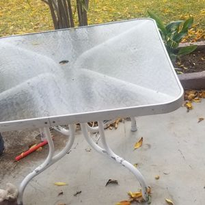 Free Patio Table for Sale in San Diego, CA