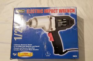 Power Craft Pro Impact Wrench for Sale in Boston, MA