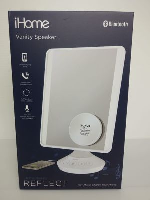 ihome vanity makeup mirror speaker for Sale in Emmaus, PA