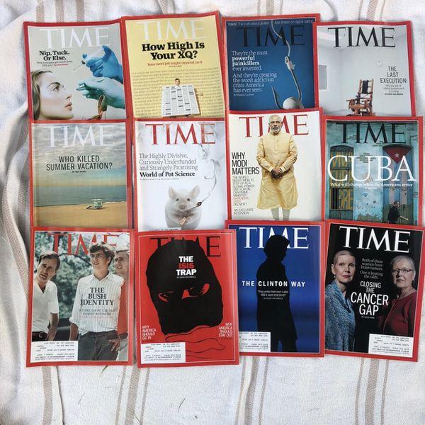 2013-2015 Magazines