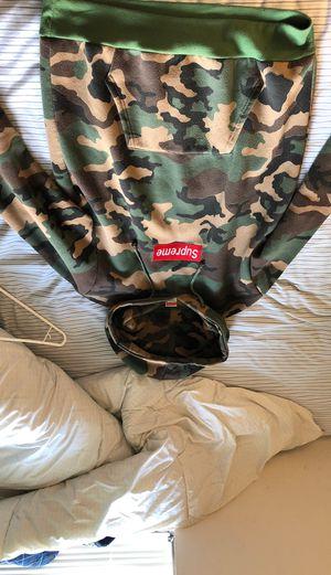 Supreme camo hoodie for Sale in Seattle, WA