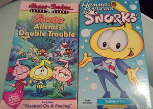 VHTF Snorks VHS Lot x2! Hanna-Barbera for Sale in Colorado Springs, CO