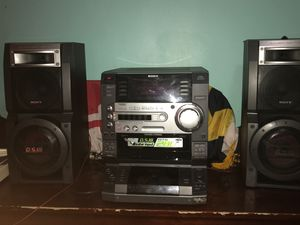 Sony D.S.W stereo system for Sale in Washington, DC
