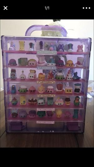 Collectors case and shopkins for Sale in Millville, NJ