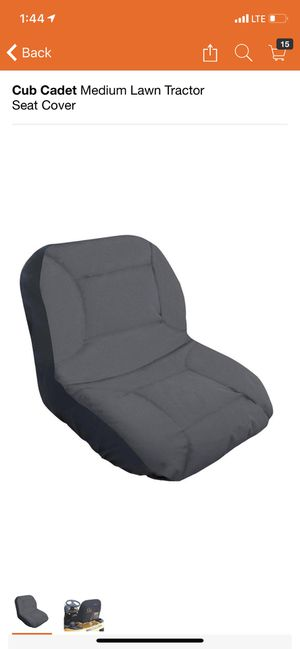 Cub Cadet Medium Lawn Tractor Seat Cover for Sale in South El Monte, CA