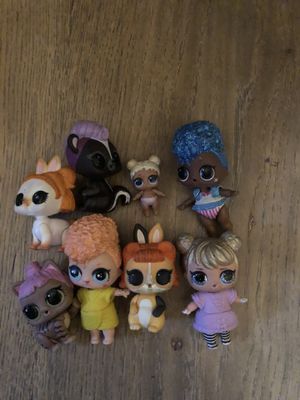 8 lol dolls for Sale in Los Angeles, CA