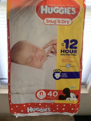NEWBORN DIAPERS . for Sale in Jennings, MO