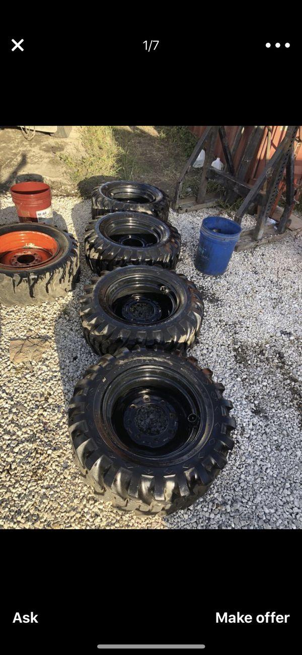 Bobcat tires & rims