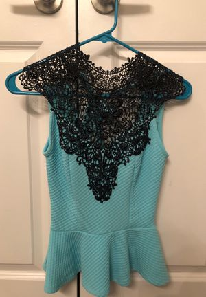 Blue/green Halter Top for Sale in New Braunfels, TX