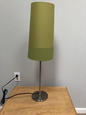 Tall green modern desk lamp for Sale in Sterling, VA