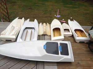 Rc boat hulls and engine for Sale